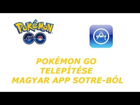 Pokémon GO letöltés magyar APP Store-ból