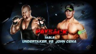 Table Match, Undertaker Vs John Cena [WWE 2K15]