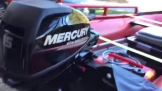 2012 Mercury 380HD. 15 HP Mercury Outboard, Mods