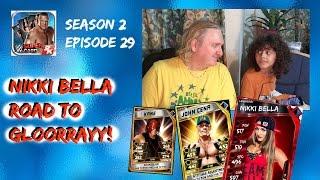 WWE SuperCard Season 2 Episode #29 - Nikki Bella Road To Glory!!