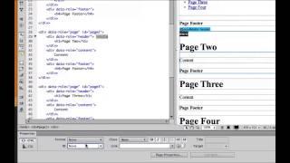Tutorial: Crear un sitio web con JQuery Mobile en Dreamweaver