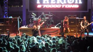 Therion - Ginnungagap (Live) 70000 Tons of Metal 2015