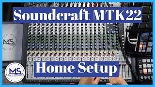 Soundcraft 22MTK - Home Studio Setup