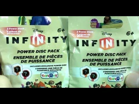 Disney Infinity Power Disc Toys R Us Exclusive Two Pack Break