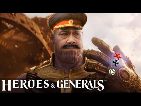 Heroes & Generals   THAI Funny Moments - EP.10