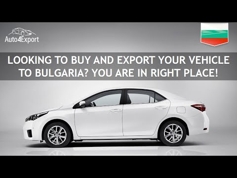 Shipping cars from USA to Bulgaria - Auto4Export