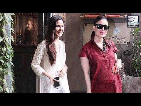 Pregnant Kareena Kapoor SECRETLY MET Katrina Kaif? | LehrenTV
