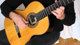 Satie Gnossienne No 1 Classical Guitar