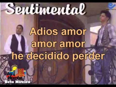 Decidi perder- Alfonso Gutierrez (Con Letra) Ay Hombe!!!
