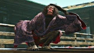 Sekiro Shadows Die Twice - Folding Screen Monkeys Boss Fight (1080p 60fps)