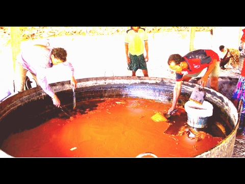 Black jaggery production process   Healthy jaggery   Making of gur
