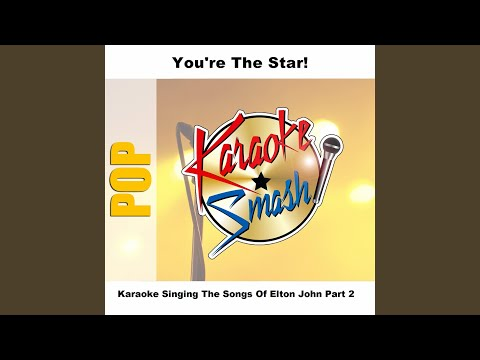 Electricity (karaoke-Version) As Made Famous By: Elton John