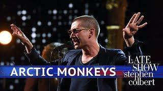 Arctic Monkeys Perform The Ultracheese