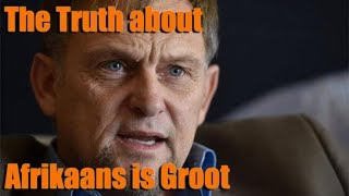 The Truth about Afrikaans is Groot | South Africa (2019)