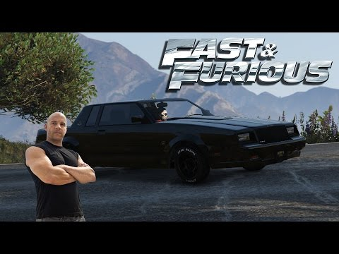 2017 Buick Grand National >> FAST AND FURIOUS 4 - Dom's 1987 Buick Grand National Car Build! - Gta 5 - YouTube