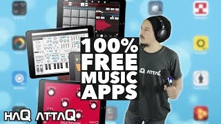 25 FREE Music Making Apps for iOS | NO IAP - haQ attaQ