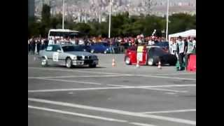 Ankara OTODRAG Supra Turbo BMW vs. Twin Engine CRX