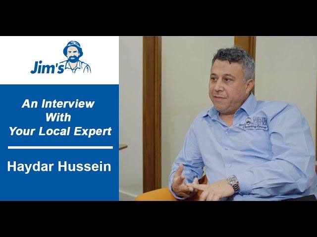 #JIMS Interview with Haydar Hussein, Founder of the Jim's Cleaning Group 800 + Franchisees
