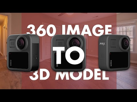 How To Create 3d Model For Iclone Scene Using 360 Gopro Max Photo
