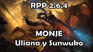 Diablo 3 RPP 2.6.4 Probando MONJE Sunwuko y Uliana