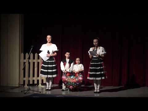 Vianočné vystúpenie 2017 - úvod (Autor videa: Petra Mitašíková PhD.)