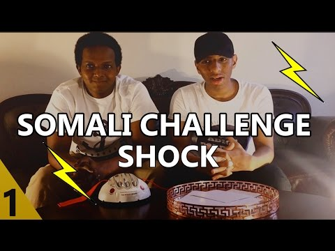 THE SOMALI CHALLENGE WITH ELECTRICAL SHOCK !! - FUNNY