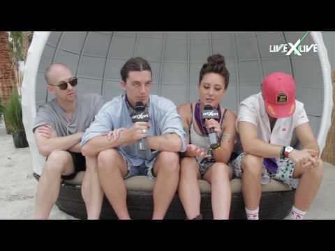 LANY Interview - Hangout Festival 2017