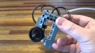Lego Pneumatic Engine - Super Simple Switchless 1 cylinder