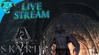 Elder Scrolls V: Skyrim - Special Edition Live Stream Series E2 Life as a Ruthless Vampire Lord!