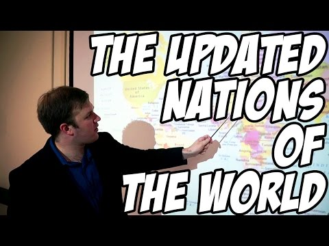 The Updated Nations of the World (Yakko's World 2.0) by Chocolate Ghost House & the Animaniacs