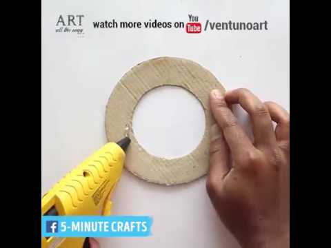 3 creative decorations made from straws via Art All The Way, bit ly