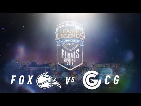 FOX vs. CG    NA LCS Spring Playoffs   Third Place Game 1   Echo Fox vs. Clutch Gaming