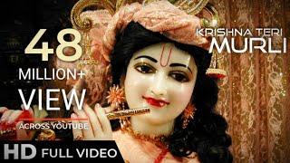 Krishna Teri Murli   Feroz Khan   Full Song Video Beautiful 4K Krishna