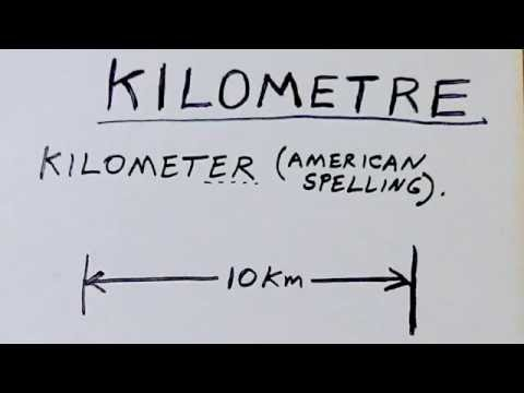 3 ways to pronounce Kilometre (kilometer)