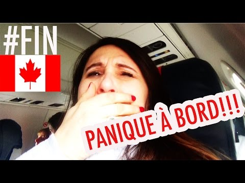 PANIQUE À BORD SUR LE RETOUR DU CANADA!! VLOG CANADA ANGIE MAMAN 2.0