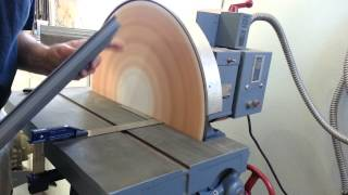 Disc Sander Helps Dennis's Grill