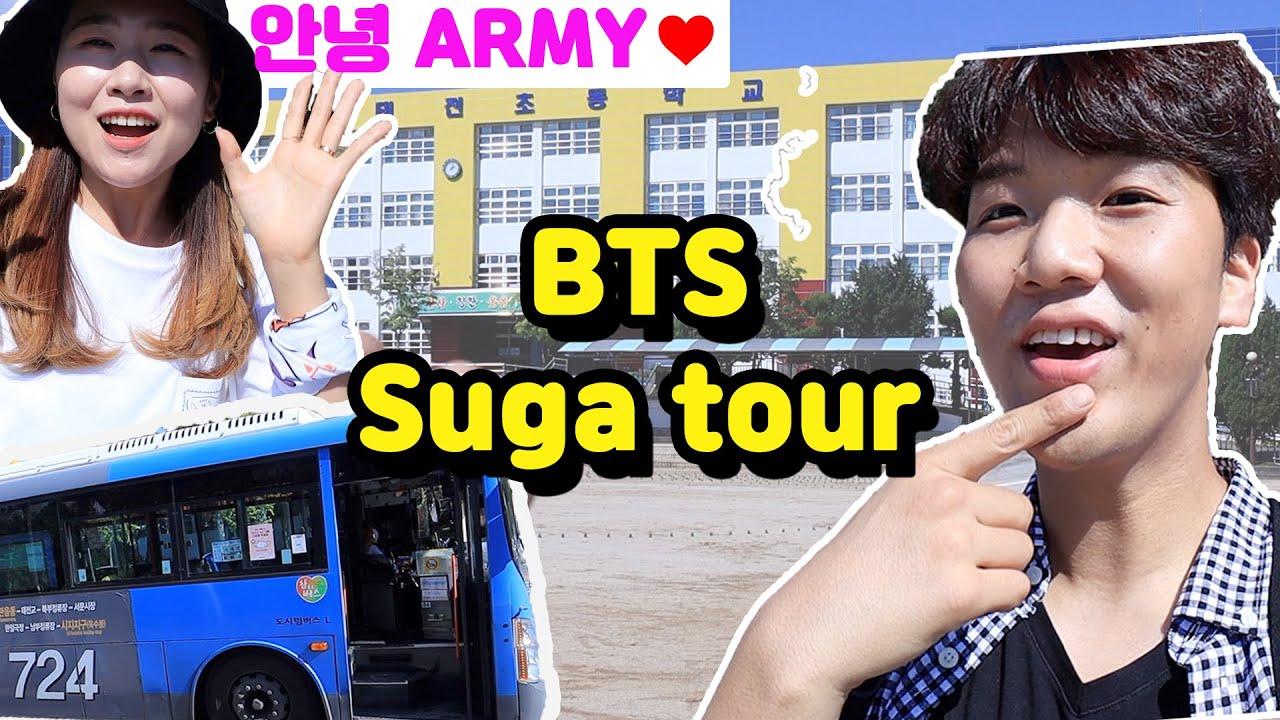 Visitando a la ciudad natal de BTS SUGA con una ARMY coreana!!