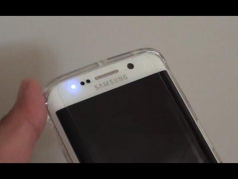 Samsung Galaxy S6 Edge: Enable / Disable Blue Light LED ...