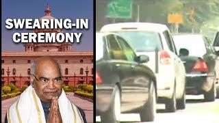 Ramnath Kovind leaves for Rajghat
