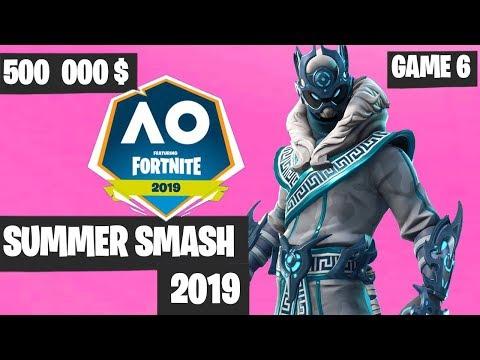 Fortnite Summer Smash Game 6 Highlights - Fortnite Australian Open [Fortnite Tournament 2019]