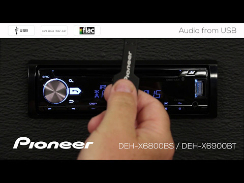 How To - DEH-X6900BT - MP3 and FLAC Audio from USB