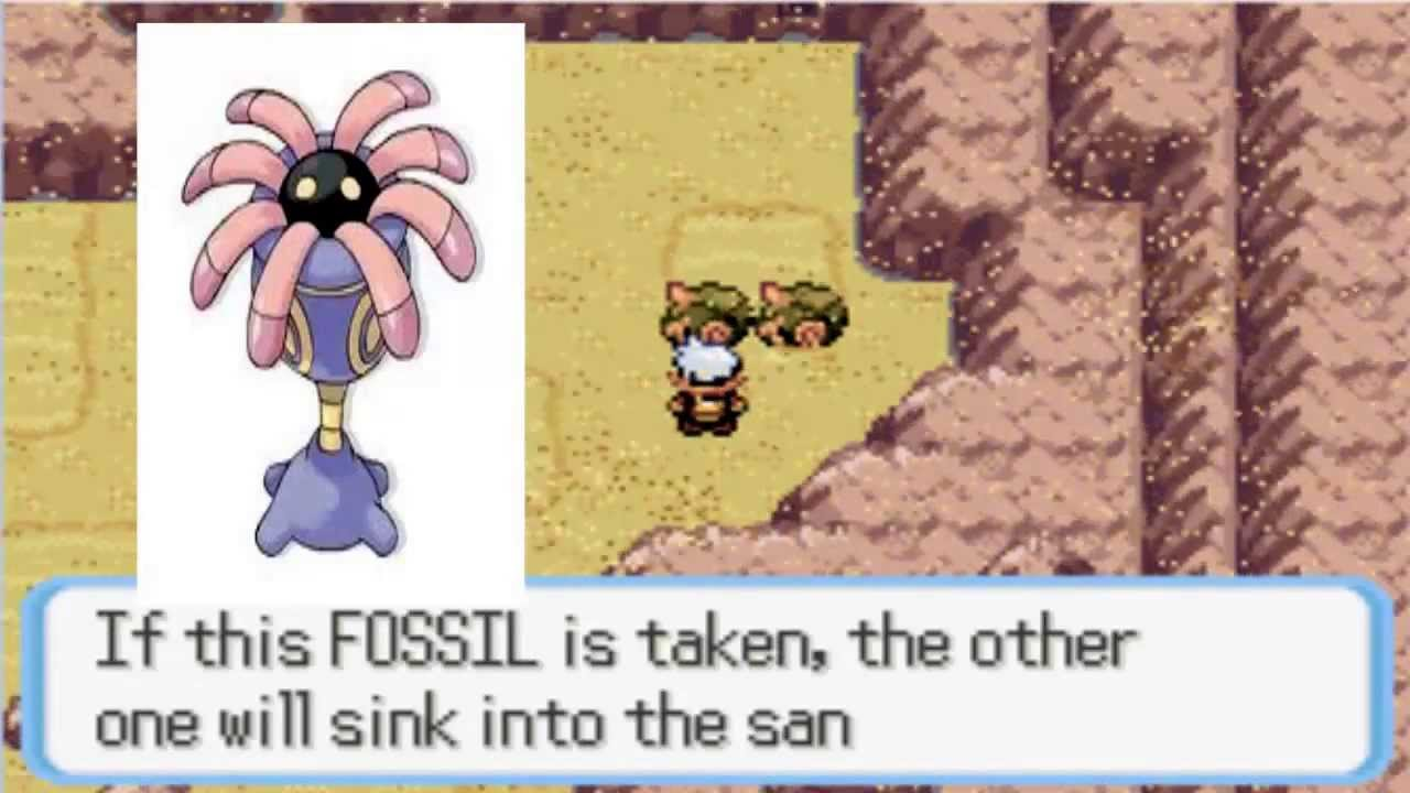 Where to get Anorith and lileep in Pokemon Emerald, Ruby ...