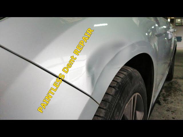Paintless dent Repair Ford Focus 2012   Indreptari cu ventuze Craiova