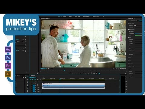 Correcting over exposed footage in Premiere Pro