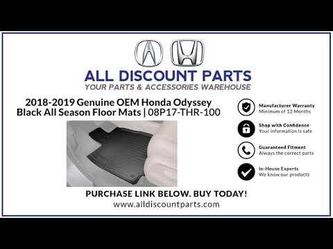 Honda Genuine Parts 08P17-THR-100 All All Season Floor Mat