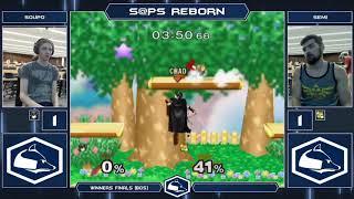 S@PS Reborn Melee Singles - Soupo (Marth) vs Semi (Fox/Ganon) - Top 16 Winners Finals