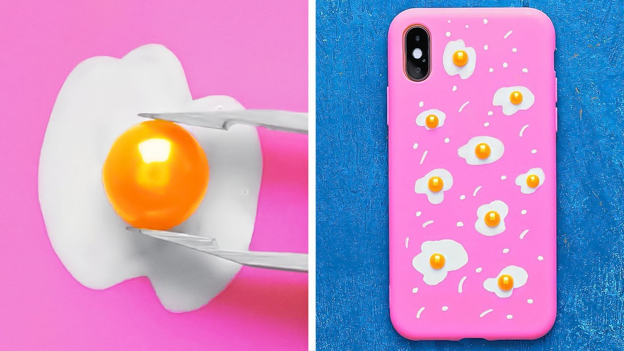 Cool And Easy DIY Phone Case Ideas