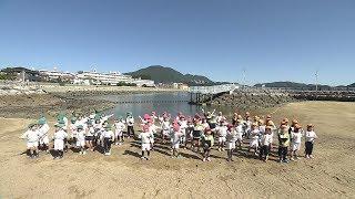日本全国でレッツ☆うみダンス in 長崎県 矢上幼稚園のみなさん