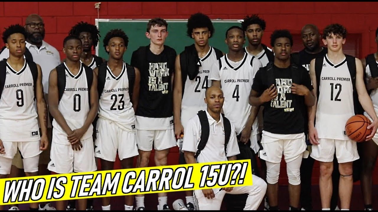 Who Is TEAM CARROLL 15U😱??!! THESE ARE ALL FRESHMAN! Team Carroll vs  Midstate Elite