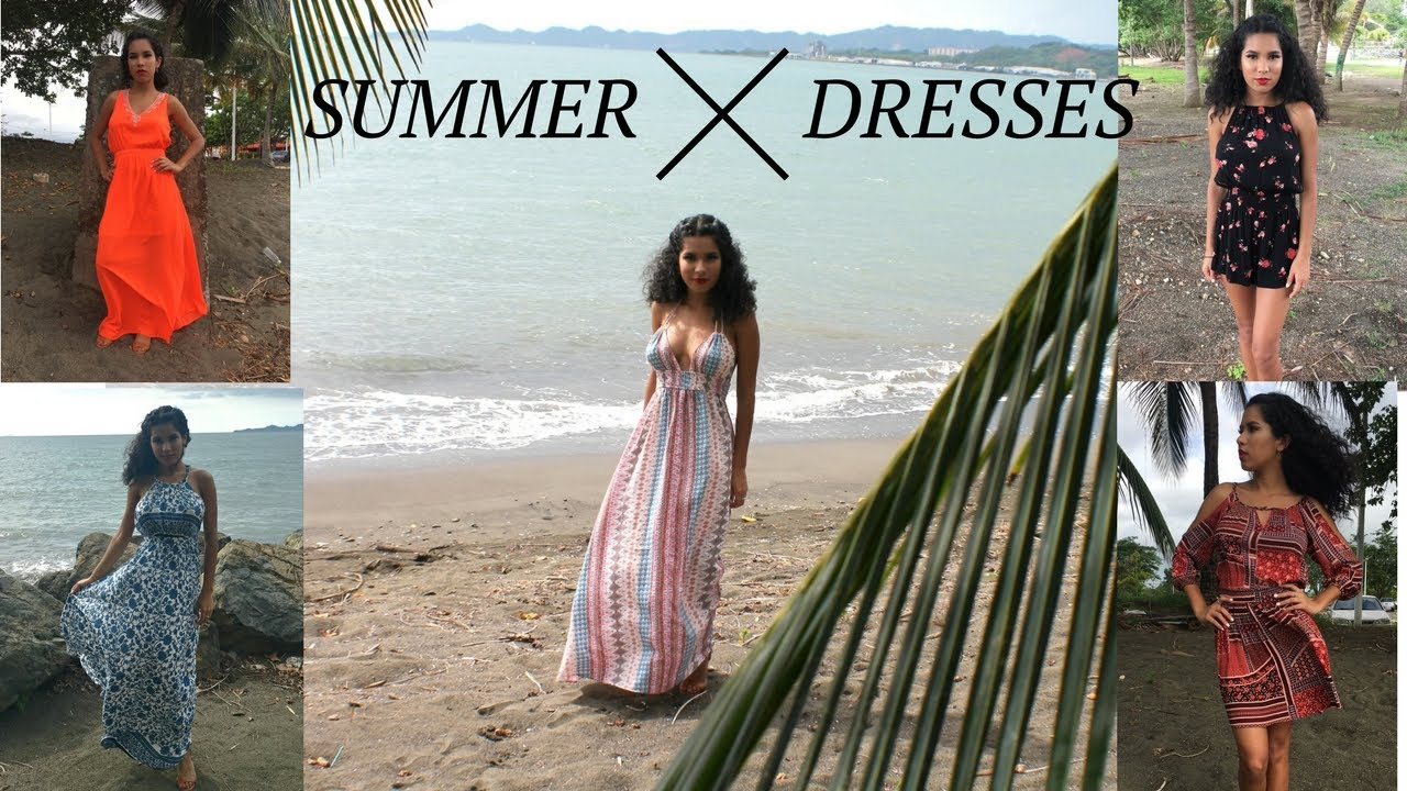 [VIDEO] - SUMMER DRESSES: LOOKBOOK 3